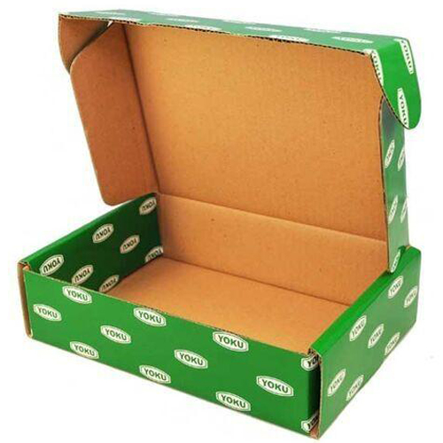 Custom Corrugated Mailer Box Shoe Packaging