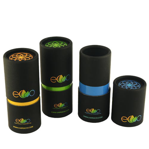 3 Pieces Telescope Paper Tube with Foil Stamping